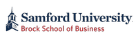 Samford University's Brock School of Business Logo